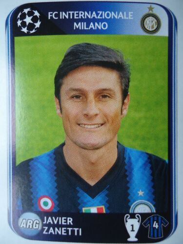 Panini 13 Javier Zanetti FC Internazionale UEFA CL 2010//11