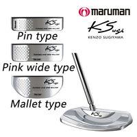 Maruman Golf Japan Ks Putter Pin, Pink Wide, Mallet Type 2016 Model