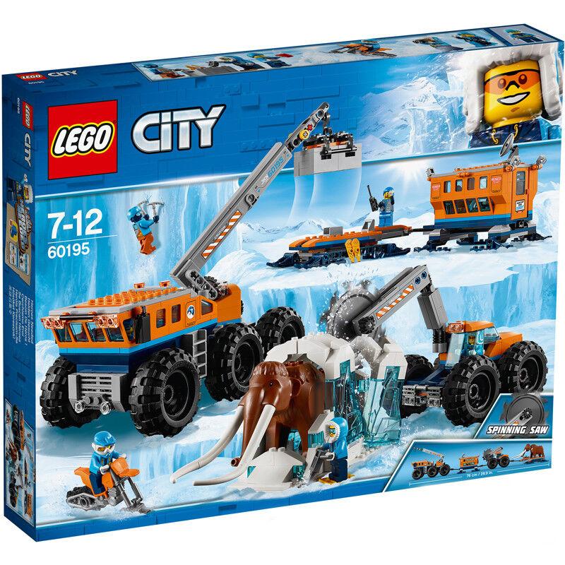 Lego City Arctic Arctic Arctic Mobile Exploration Base 60195 NEW 4a3bbe