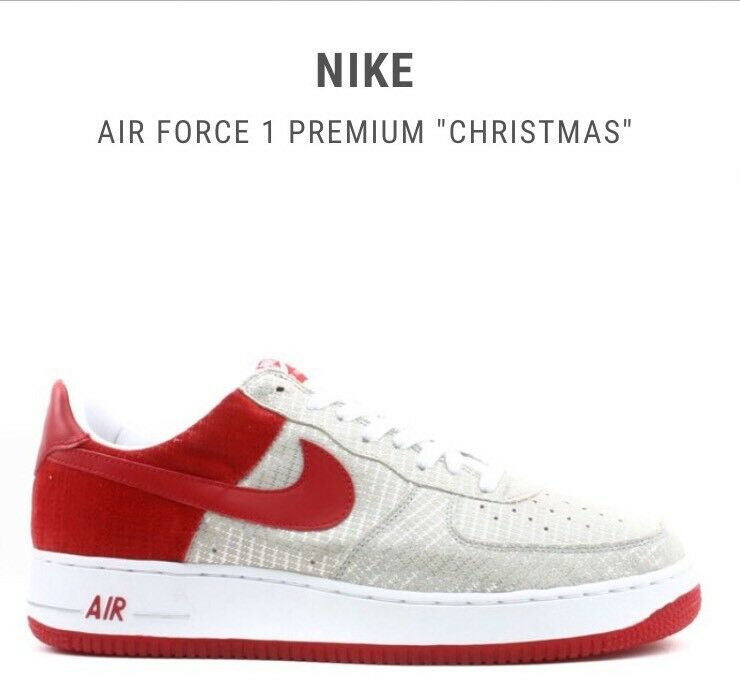 Vintage Nike Christmas Air Force 1 Low Sz 10