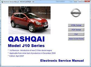 Haynes owners workshop manual nissan qashqai (07-12) dualis j10.