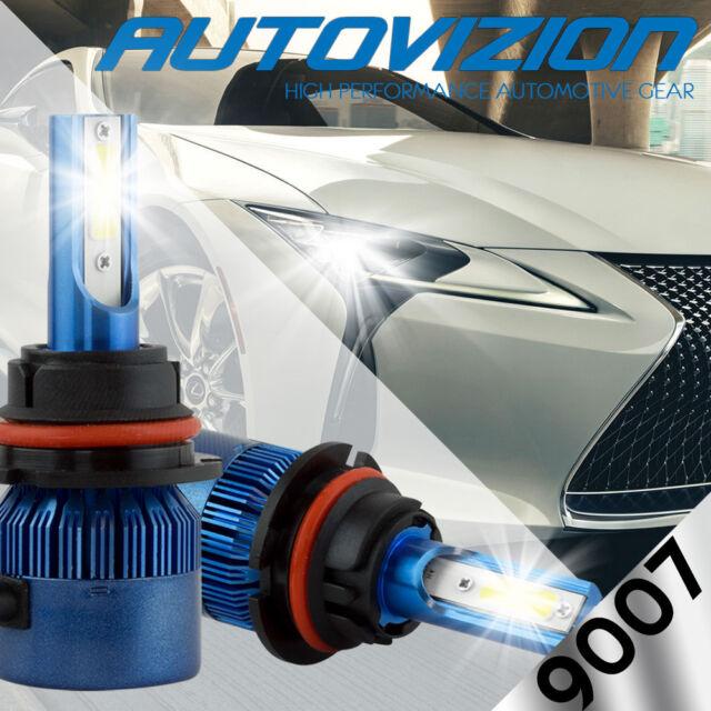 AUTOVIZION LED HID Headlight Conversion kit 9007 HB5 6000K 2005-2007 Ford Focus