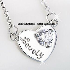 Image is loading STERLING-SILVER-Heart-Necklace-Love-Heart-Moon-Gifts- 11eb9ea3b