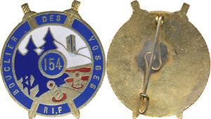 154-Regiment-d-Infanterie-de-Forteresse-email-epingle-en-S-soudee-C65