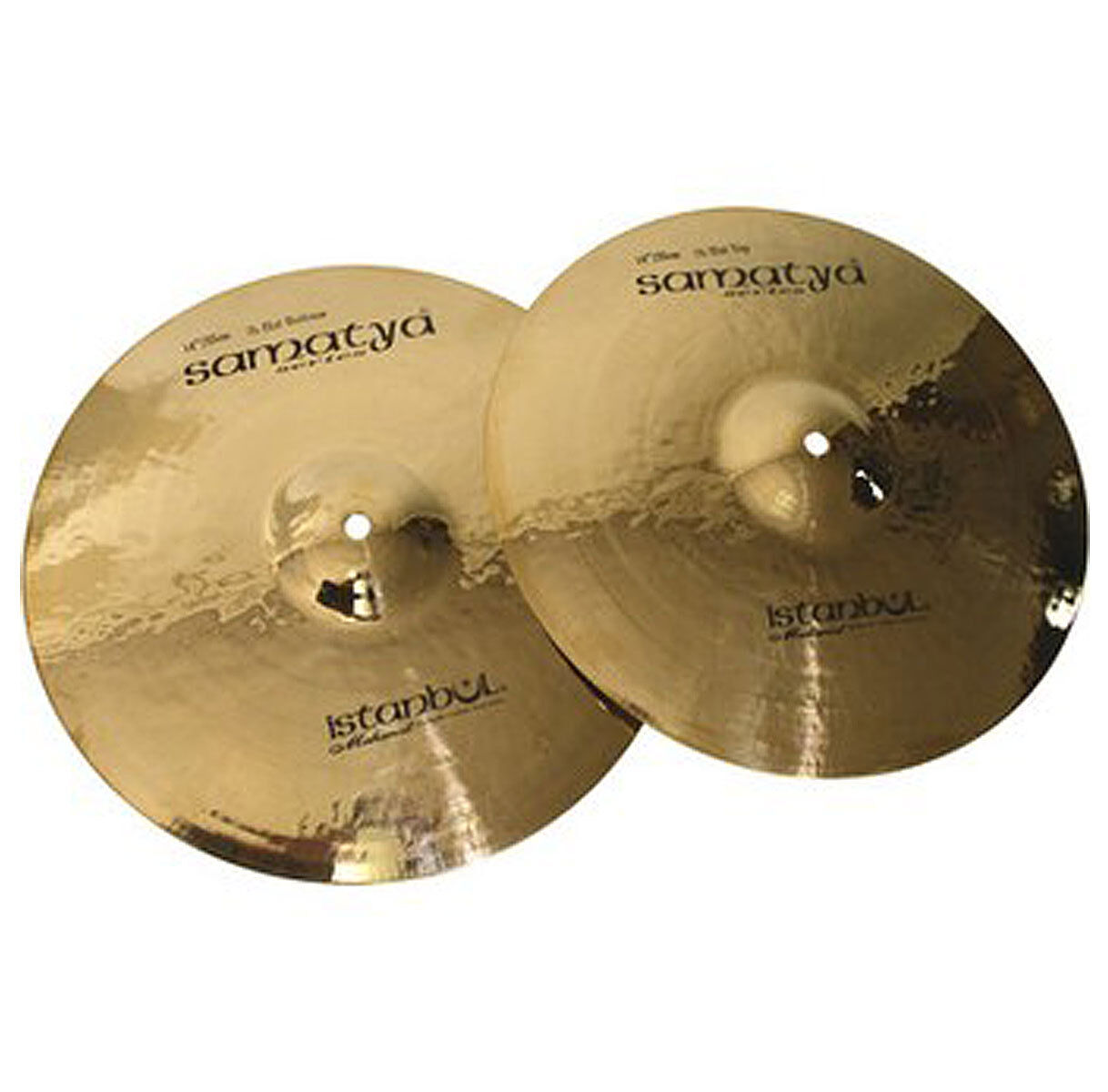 Istanbul Mehmet Samatya Brilliant Hi Hat 14   Cymbals Cymbal