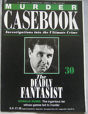 Murder Casebook Issue 30 - The Deadly Fantasist, Donald Hume