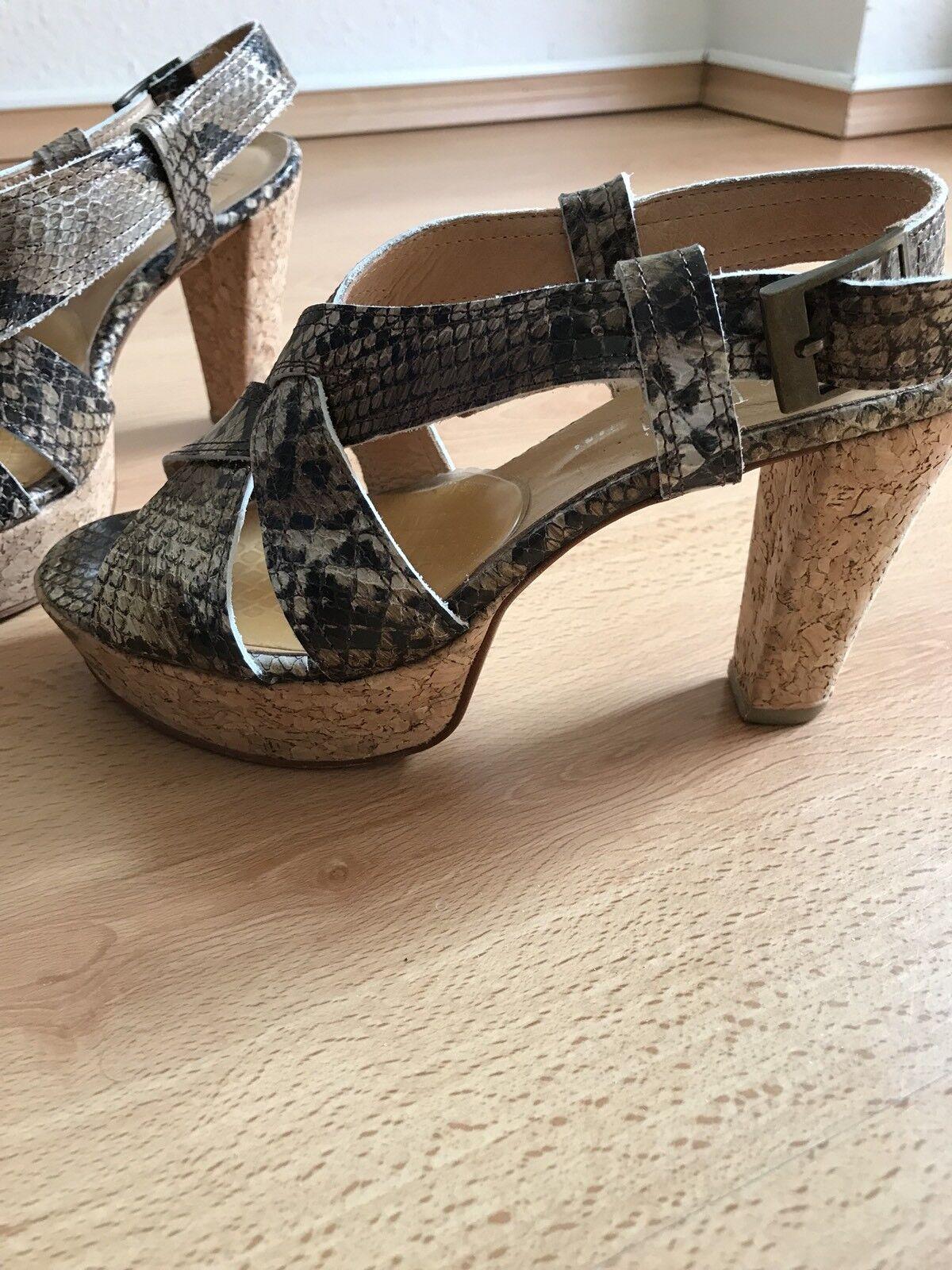 Valerie Perrini Damen Damen Damen Pumps Schuhe Pythonleder Neupreis e0b21b
