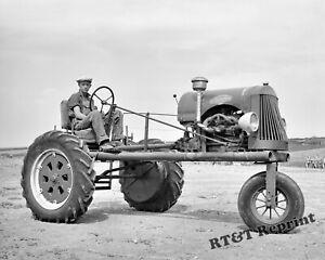 Old tractors-antique-8x10 photo