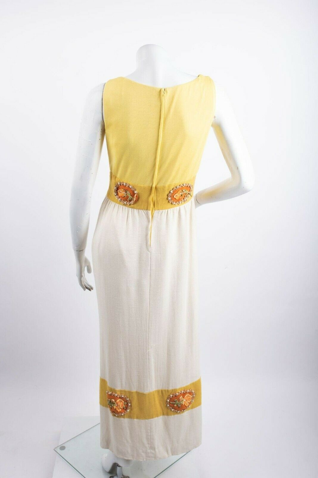 1970's Alice John Rogers Maxi Dress Women's XS/S … - image 3