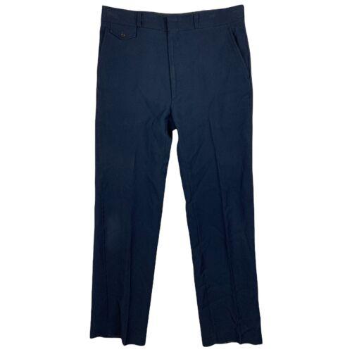 Vintage 1970s Mens Pants 31X35 Haggar Body Works 1
