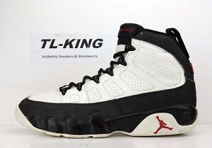 8ac16fc1b9f019 OG Vintage Nike Air Jordan 9 Space Jam White Black Red Left Shoe ...