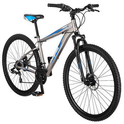 29 in Mongoose Men's hard Tail Mountain Bike Proxy, Matte Grey