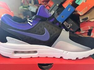 promo code 2caed 79b6c Image is loading NIKE-AIR-MAX-ZERO-QS-BNIB-BLK-GREY-