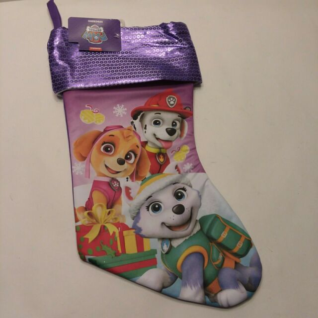 Nwt Paw Patrol 16 Quot Christmas Stocking Fabric Multi Color