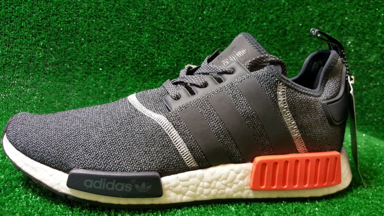Adidas NMD R_1 Grey Orange Charcoal Reflective S31510 AUTHENTIC Men Size 11 US AUTHENTIC S31510 f43348