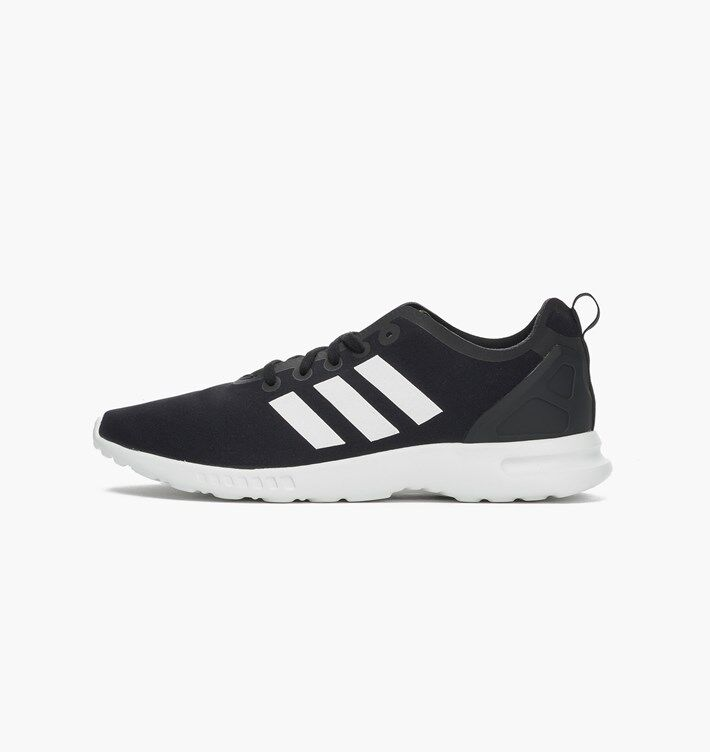 Adidas Original ZX FLUX SMOOTH Women's Shoes NEW AUTHENTIC Black /White S82884