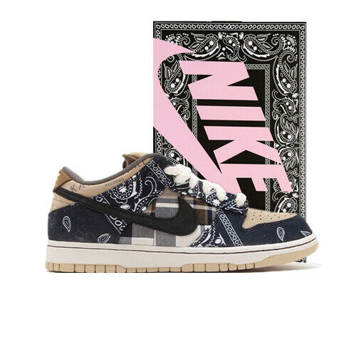 Size 8 - Nike SB Dunk Low Premium QS x Travis Scott Cactus Jack ...