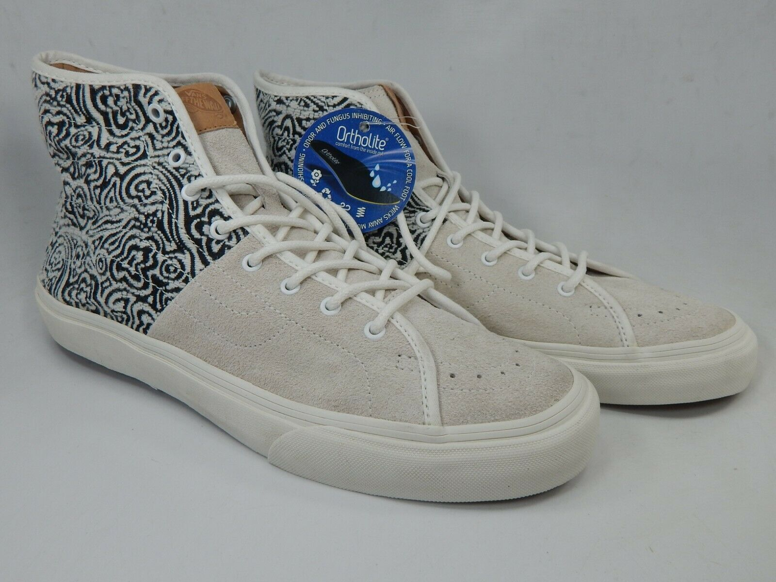 VANS off The Wall TC6D Gray Canvas Lace