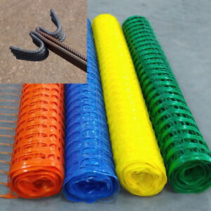 Heavy Duty Plastic Mesh Barrier Safety Fence Amp Metal Steel