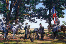 """""""Battlefield Gettysburg"""" John Paul Strain Civil War Print"""
