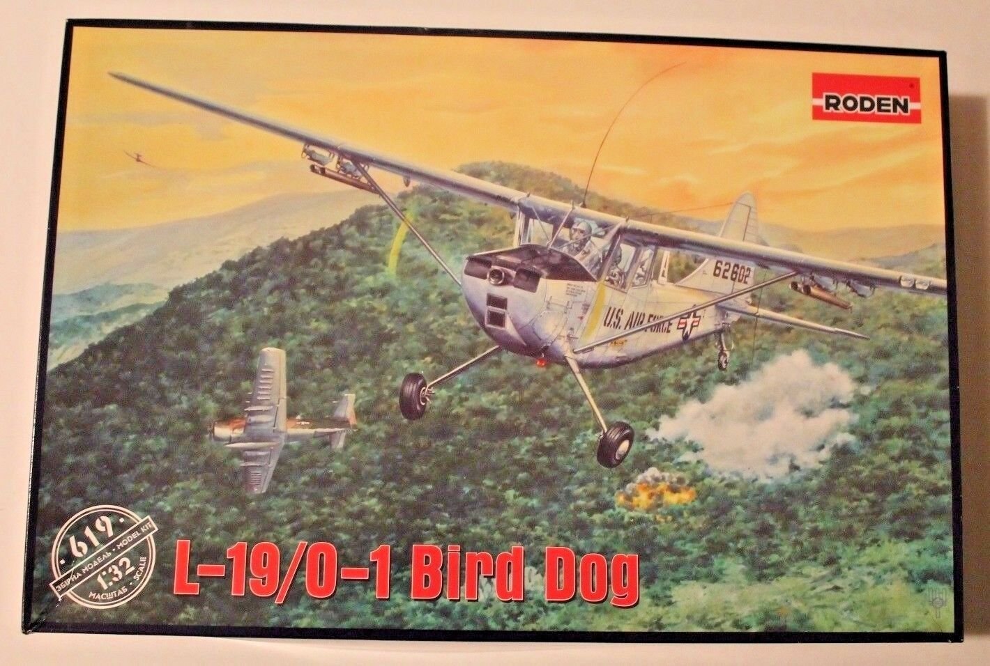 NEW, Roden L-19 O-1 Bird Dog in 1 32 619 ST