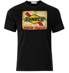 SUNOCO-RACE-COMBUSTIBILI-Grafica-Cotone-T-Shirt-A-Manica-Lunga-amp