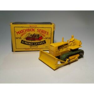 Details about Matchbox N 18 / Caterpillar Bulldozer/Cat D8 (Original Box  '60s) Scale 1/75