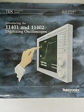 Tektronix Introducing The 11401 Amp 11402 Oscilloscopes Introduction Manual