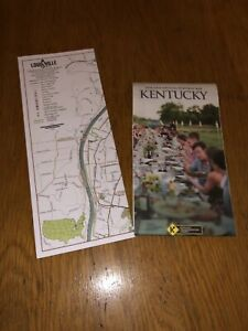 2018-2019 State of Kentucky Highway and Transportation Map New & Louisville Map