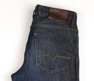 Hugo Boss Hommes Orange31 Pure Slim Jambe Droite Jeans Extensible Taille W32 L34