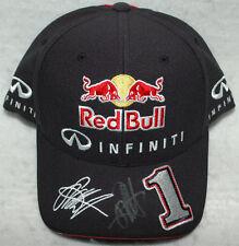 Sebastian Vettel Signed Red Bull F1 2014 with the number 1 Cap / Hat