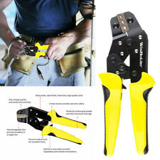 Multipurpose Electrical Wire Stripping Tool Crimper Ratchet Non Insulated Cutter