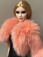 "FASHION ROYALTY NU FACE 2.0 SHE OWNS EVERYTHING ERIN NUDE 12"" DOLL"