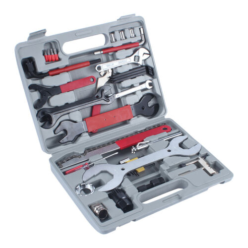 Profi 44tlg Fahrrad Werkzeug Reparatur MTB Bike Tool Box Set Werkzeugkoffer BY