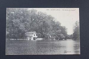 Tarjeta-Postal-antigua-CPA-OLIVET-los-bordes-de-la-Loira