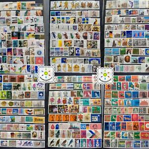 Germany-Stamp-Collection-MNH-1000-Different-per-Lot-in-Full-Sets-and-Singles
