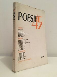Poesie45-N-25-Revista-Mensual-Las-Letras-1945