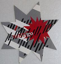 U2 STICKER VERTIGO ETOILE FAN CLUB PROMO