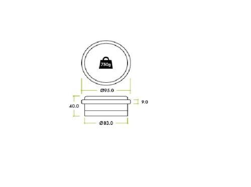 Référence tirage planche à repasser taille xl 140x48cm wpro ibc050 whirlpool 484000008536