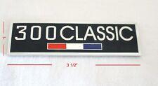 For Chrysler 300 Classic Unique Custom Emblem High Quality Chrome Plated Brass