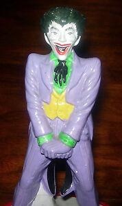 THE JOKER FIGURAL MUSIC BOX BATMAN 1978 DC COMICS WORKS BUT DAMAGED