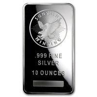 10oz Sunshine Silver Bar