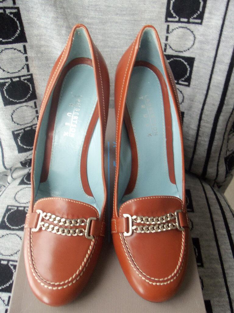 Nuevo Lambertson Truex marrón Pump Zapatos De Cuero. 8 8 8 38  muchas concesiones