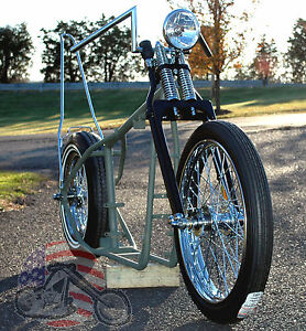 Details about A$$ Grinder Harley Ironhead Sportster Rolling Chassis Paughco  Frame Bike Kit XL