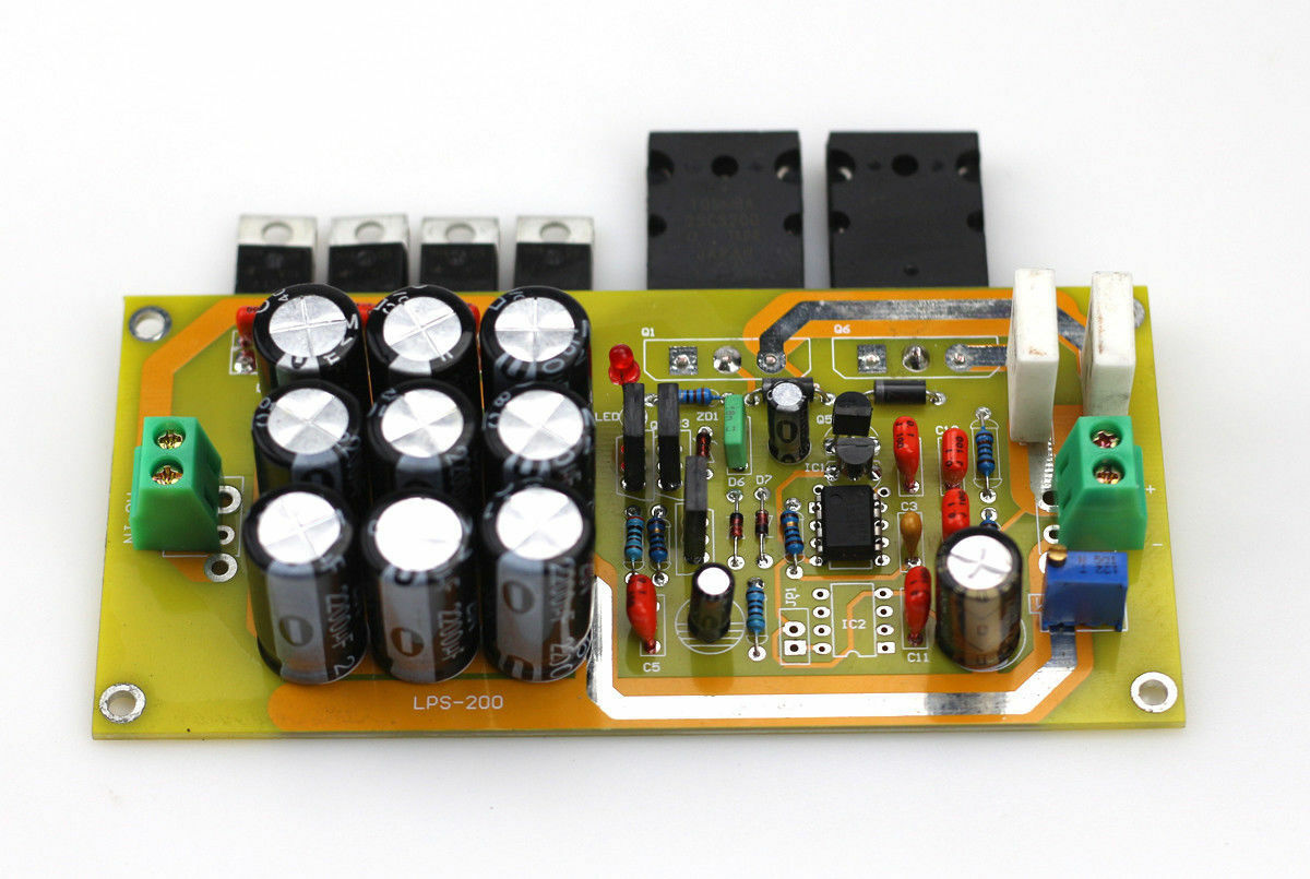 Zerozone Assembled Ultra Low Noise Linear Power Supply Board Lps Supplies Discrete Semiconductor Devices And Circuits Please Tell Us What The Output Voltage Is You Need