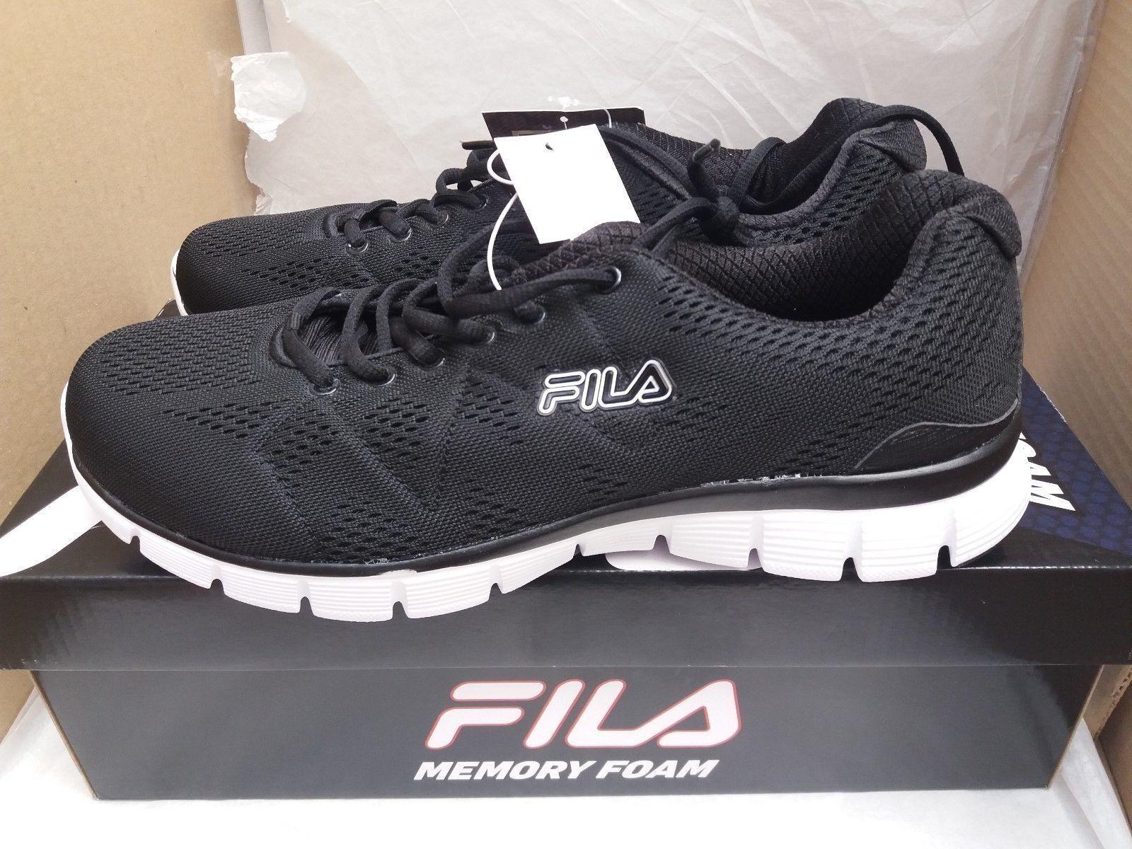 Fila Memory Refractive Men's Trainers Black/White Cheap and beautiful fashion