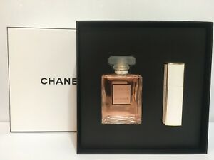 Image is loading CHANEL-COCO-MADEMOISELLE-2PC-GIFT-SET-FOR-WOMEN- & CHANEL COCO MADEMOISELLE 2PC GIFT SET FOR WOMEN EDP SPRAY 3.4 OZ + ...