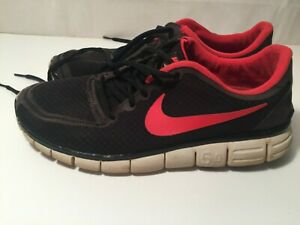 Nike Free 5.0 Men's Size 13 Red Black Athletic Running Shoes | eBay