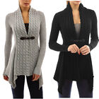 Winter Women V-Neck Sweater Casual Knitted Cardigan Long Sleeve Outwear Tops Lot