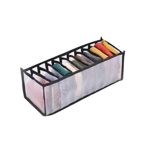 3//7//11 Grid Underwear Bra Socks Ties Drawer Closet Divider Storage Box Organizer